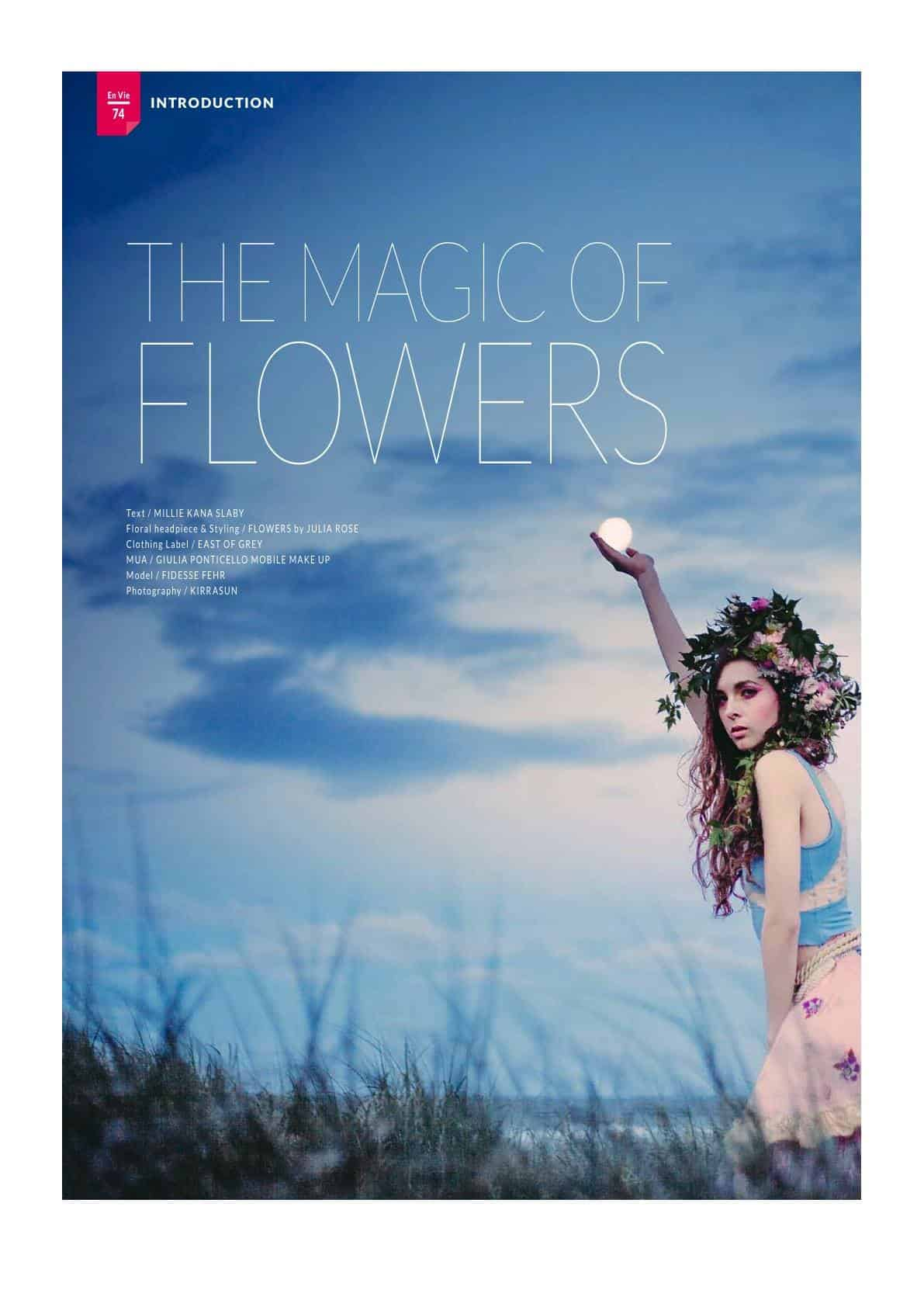 Envie Magazine - Artisti feature - Flowers by Julia rose