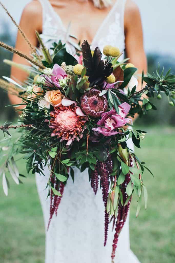 Julia Rose - Native flower wedding bouquet - Workshops