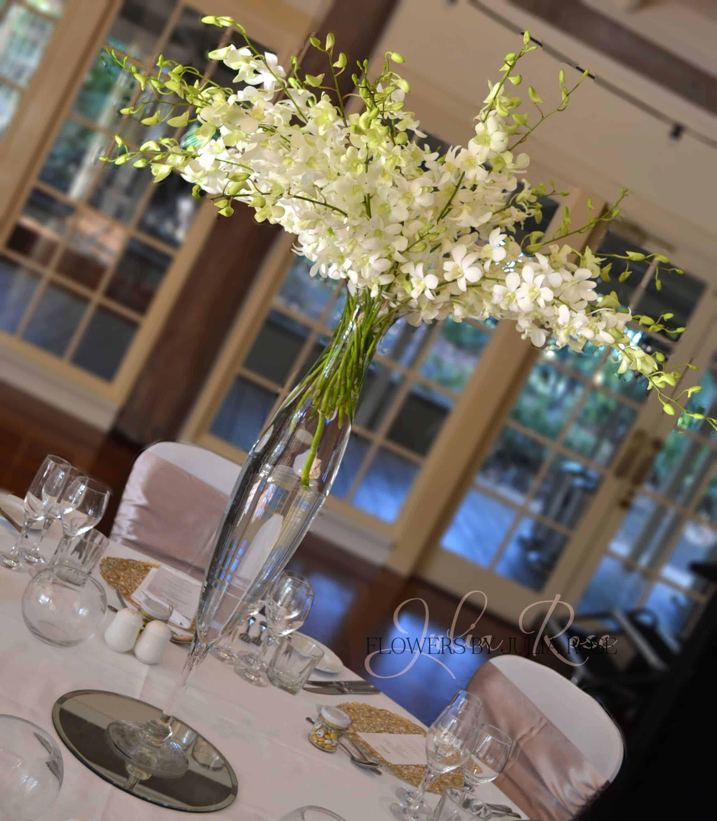 Wedding Flowers Reception: Julia Rose