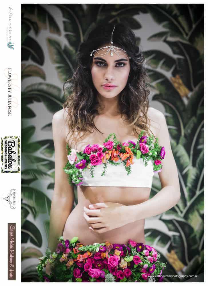 Fresh Floral Bikini - Flowers by Julia Rose - low res - babalou -