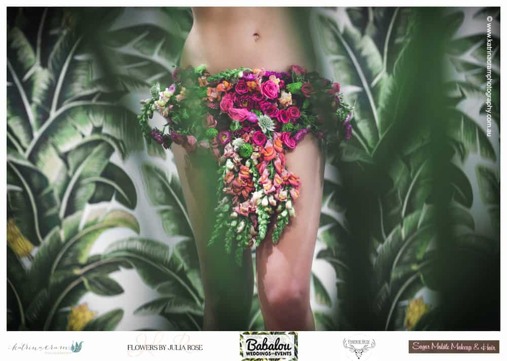 Fresh Floral Bikini - Flowers by Julia Rose - low res - high fashion campaign