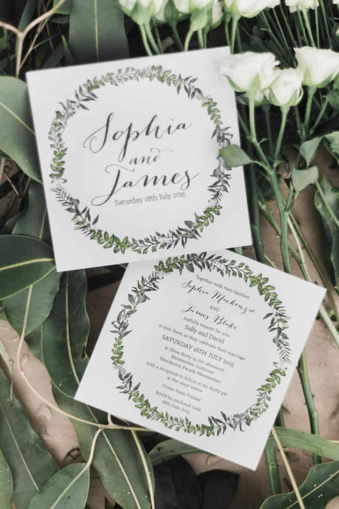 Flowers by Julia Rose - The wedding Play book - Love notes - Byron Bay