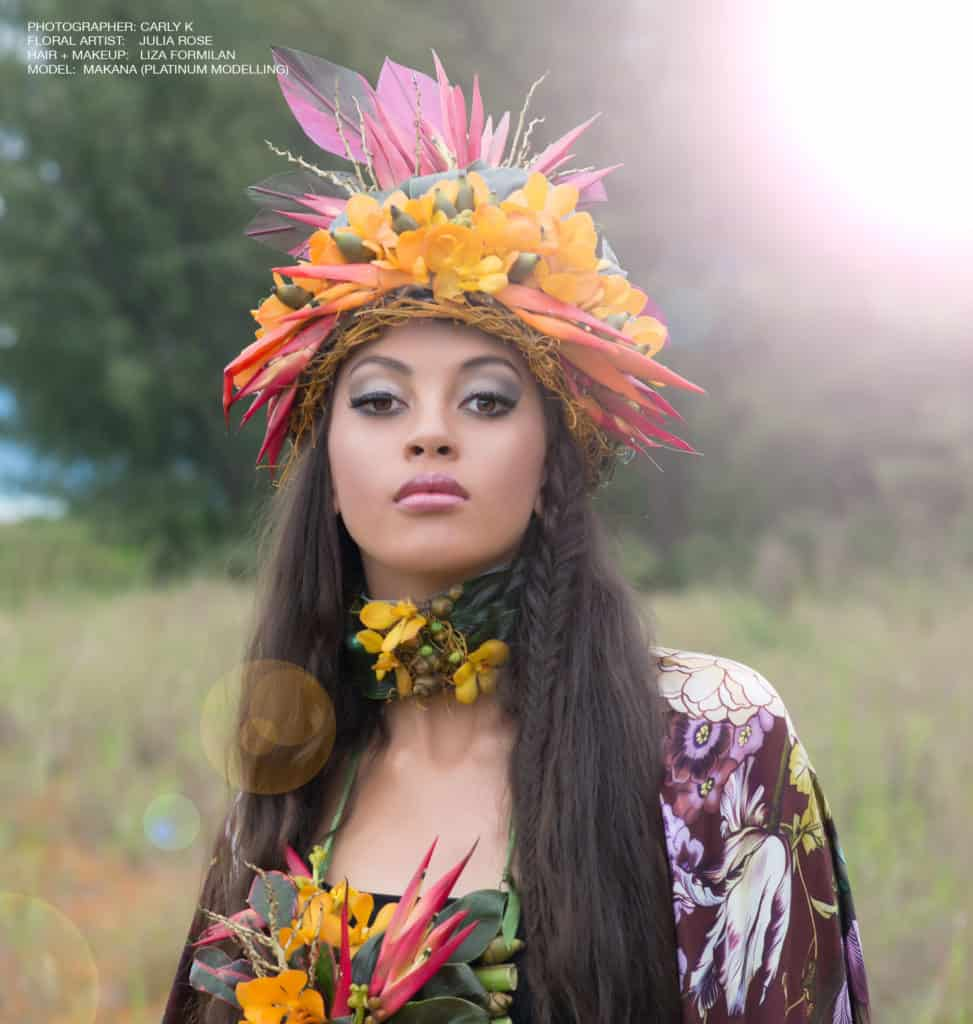 Tropical Flower Crown - Flowers by Julia Rose - Orchids Shovava
