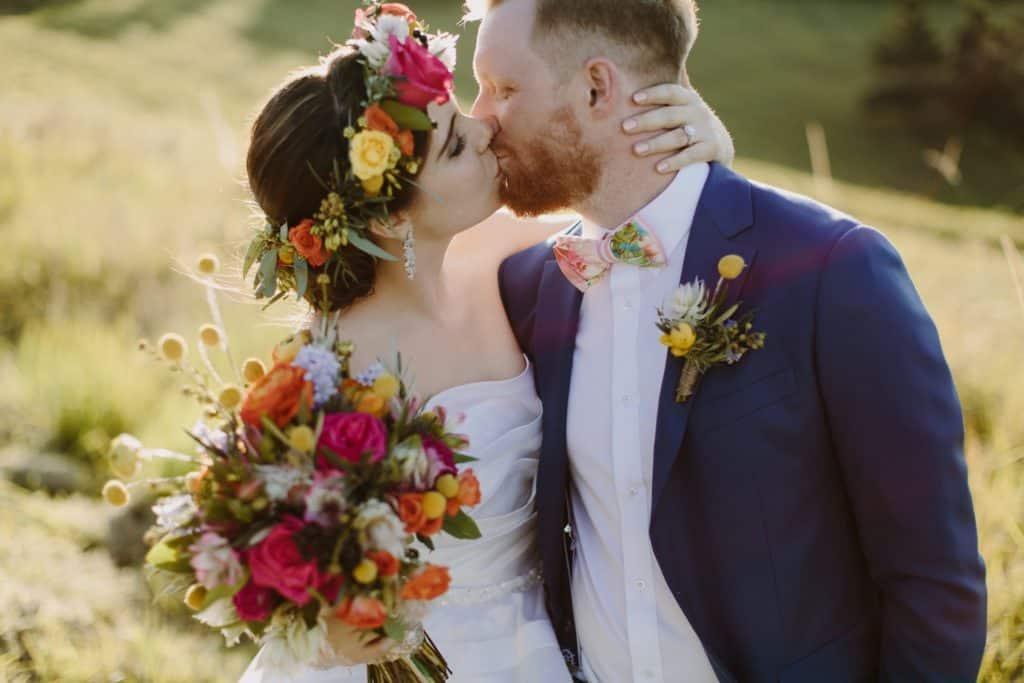 Flowers By Julia Rose - Harvest Newrybar Wedding -B&G Bouquet headpiece buttonhole
