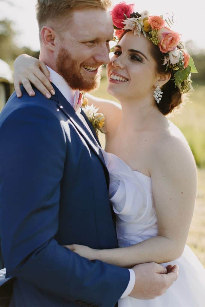 Flowers By Julia Rose - Harvest Newrybar Wedding - bride 7 groom 2
