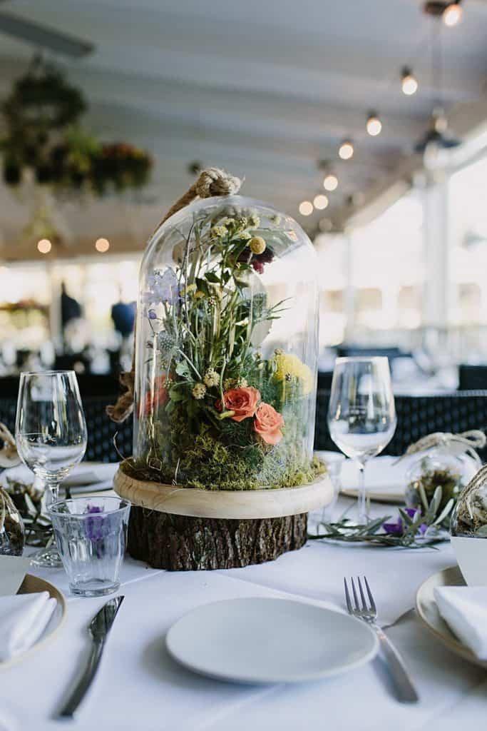 Flowers By Julia Rose - Harvest Newrybar Wedding -centrepiece