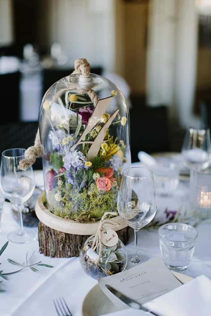 Flowers By Julia Rose - Harvest Newrybar Wedding -terrarium table