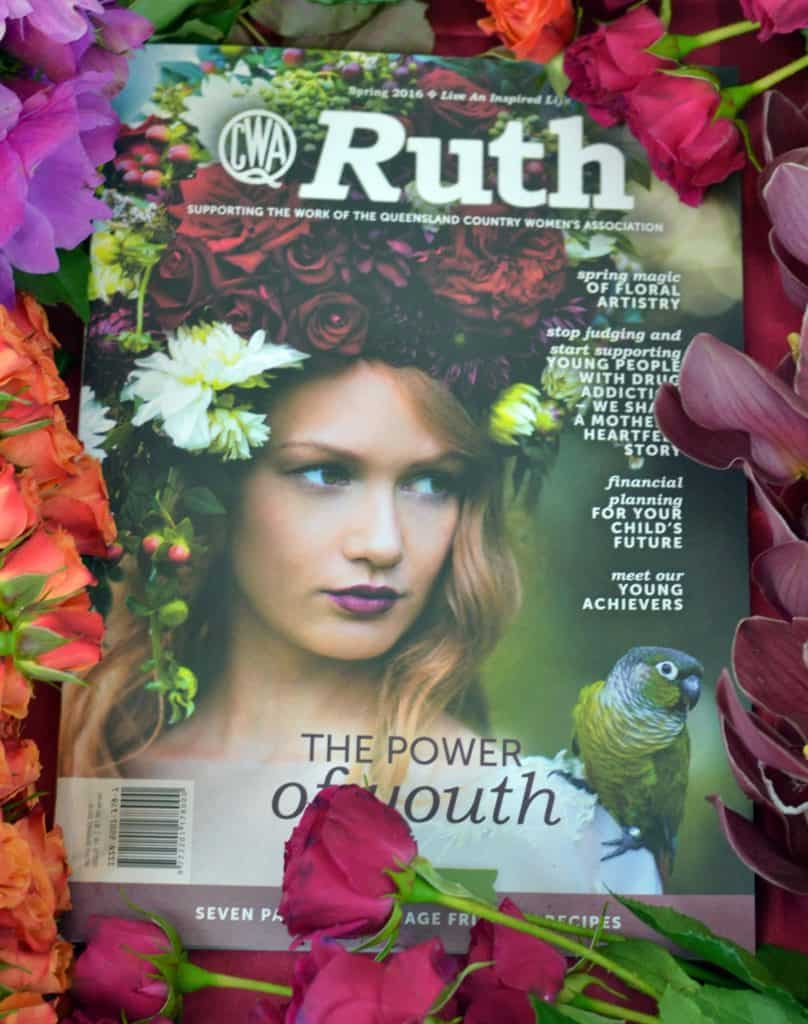 RUTH magazine - FLOWERS BY JULIA ROSE - CWA - Spring edtion