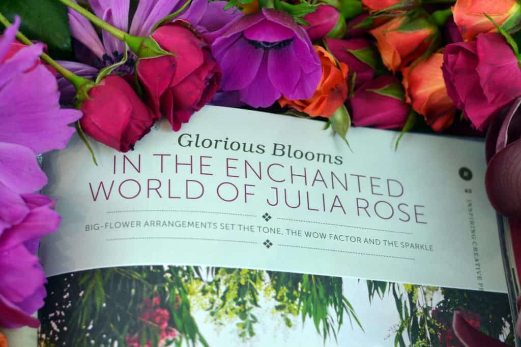 RUTH magazine - FLOWERS BY JULIA ROSE - CWA - Spring edtion- Glorious blooms