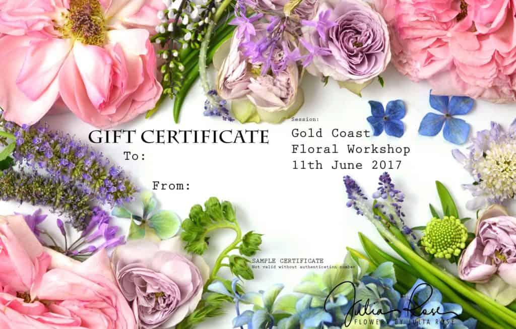 Floral Session- Workshops with Julia Rose - Julia Rose
