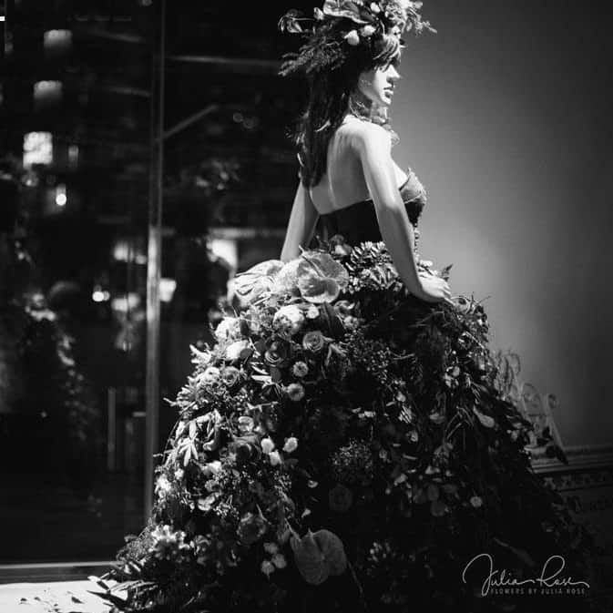 QT GC Fashion Week 2013 - Fresh Floral Gown by Julia Rose - Designer